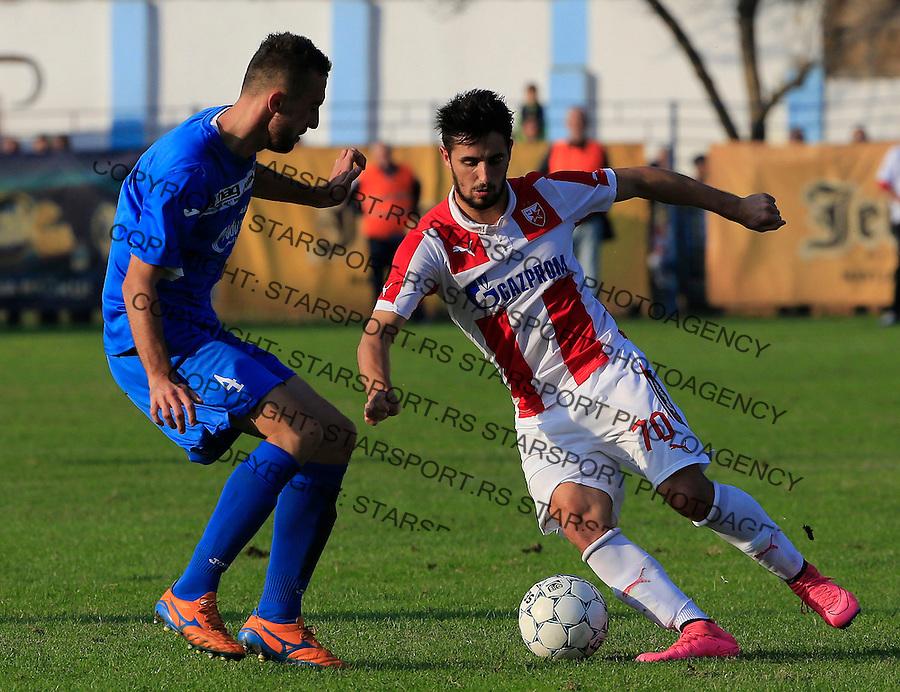 Fudbal Kup Srbije season 2015-2016<br /> Backa v Crvena Zvezda<br /> Hugo Oliveira Vieira (R)<br /> Backa Palanka, 28.10.2015.<br /> foto: Srdjan Stevanovic/Starsportphoto&copy;