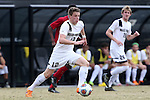29 November 2015: Wake Forest's Brad Dunwell. The Wake Forest University Demon Deacons hosted the Indiana University Hoosiers at Spry Stadium in Winston-Salem, North Carolina in a 2015 NCAA Division I Men's Soccer Tournament Third Round match. Wake Forest won the game 1-0.