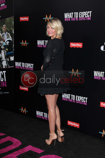 Cameron Diaz<br /> at the &quot;What to Expect When You're Expecting&quot; Los Angeles Premiere, Chinese Theater, Hollywood, CA 05-14-12<br /> David Edwards/DailyCeleb.com 818-249-4998