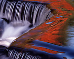 Bond Falls waterfall Upper Michigan