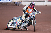 Nick Laurence of Mildenhall Fen Tiger Cubs - Lakeside Young Hammers vs Mildenhall Fen Tiger Cubs, Anglian Junior League Speedway at the Arena Essex Raceway, Pufleet - 04/05/12 - MANDATORY CREDIT: Rob Newell/TGSPHOTO - Self billing applies where appropriate - 0845 094 6026 - contact@tgsphoto.co.uk - NO UNPAID USE..