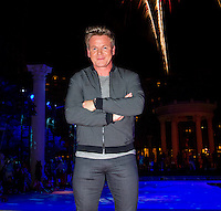 LAS VEGAS, NV - August 5, 2016: ***HOUSE COVERAGE*** Gordon Ramsay pictured as Caesars Palace celebrates it's 50th anniversary with a pool party celebration hosted by Gordon Ramsay at Garden of the Gods Pool Oasis at Caesars Palace in Las vegas, NV on August 5, 2016. Credit: Erik Kabik Photography/ MediaPunch