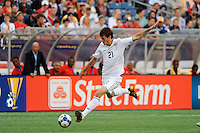 Brad Evans (21) of the United States (USA). The United States and Haiti played to a 2-2 tie during a CONCACAF Gold Cup Group B group stage match at Gillette Stadium in Foxborough, MA, on July 11, 2009. .