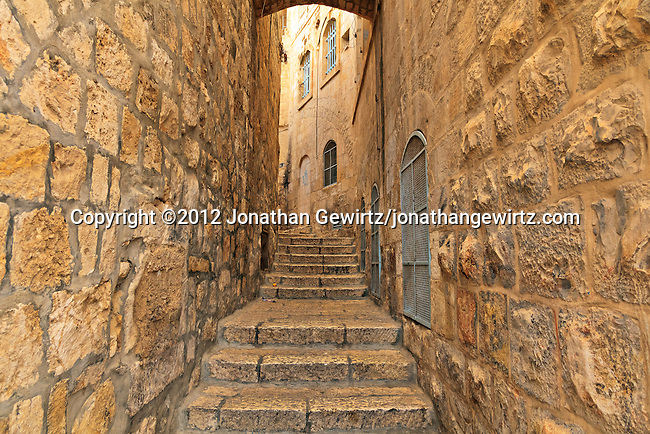 Jerusalem Old City Streets and Passageways