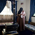 "Lebanon - Jdeideh - Asma is 30 year old and she escaped from Al Qusair with her family after the Syrian Army killed one of her kids. ""One day they knocked at the door, when I opened I was carrying my baby in my arms, they asked me where my husband was and I told them he was not in, so one of the soldiers took out a knife from his pocket and cut my baby's throat who died in my arms"""