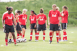Canadian Women National Team - Training - May 29, 2013