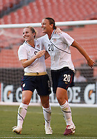 22 MAY 2010:  wnt8tduring the International Friendly soccer match between Germany WNT vs USA WNT at Cleveland Browns Stadium in Cleveland, Ohio. USA defeated Germany 4-0 on May 22, 2010.