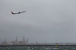 Weather.... Coastal winds around Sydney international airport. Wednesday May 25th 2011. .(Photo: Steve Christo).