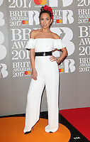 Myleene Klass at The BRIT Awards 2017 at The O2, Peninsula Square, London on February 22nd 2017<br /> CAP/ROS<br /> &copy; Steve Ross/Capital Pictures /MediaPunch ***NORTH AND SOUTH AMERICAS ONLY***