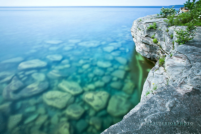 sandstone shores, 5 mile point, Lake Superior