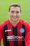St Johnstone FC 2013-14<br /> Scott Gray<br /> Picture by Graeme Hart.<br /> Copyright Perthshire Picture Agency<br /> Tel: 01738 623350  Mobile: 07990 594431
