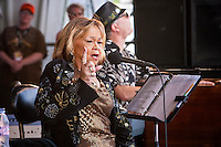 Etta James performing on the Gentilly Stage at the New Orleans Jazz and Heritage Festival at the New Orleans Fair Grounds Race Course in New Orleans, Louisiana, USA, 26 April 2009.