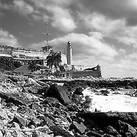 Lighthouse, Havana, Cuba | Black and White Photography