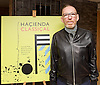 Peter Hook, Mike Pickering and Graeme Park reunited for a special event ahead of the release of the HACIENDA CLASSICAL album (on 21st Oct 2016) this month, and the airing of the HACIENDA HOUSE ORCHESTRA documentary on Channel 4.<br /> 13th October 2016 <br /> Central London, Great Britain <br /> <br /> Peter Hook is executive producer of HACIENDA CLASSICAL.  It takes the un-mistakeable sound of legendary Manchester club FAC 51 The Hacienda, and puts a symphonic spin on classics such as 'You've Got the Love' and 'Ride on Time'. The album follows unprecedented demand for live HACIENDA CLASSICAL shows, including a Royal Albert Hall concert which sold out in minutes<br /> <br /> <br /> Mike Pickering<br /> <br /> <br /> Photograph by Elliott Franks <br /> Image licensed to Elliott Franks Photography Services
