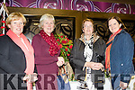 Roses are Red<br /> --------------------<br /> Attending the Tralee Flower&amp;Garden Club annual Christmas demonstration at the Grand hotel in the town last Monday night were L-R Denise O'Regan&amp;Maryfrancis O'Shea from Killarney with Mary O'Sullivan&amp;Eileen Kennedy from Inch.