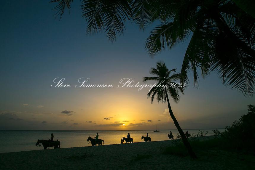 Cowboy Beach Sunset<br /> Frederiksted<br /> St. Croix<br /> US Virgin Islands