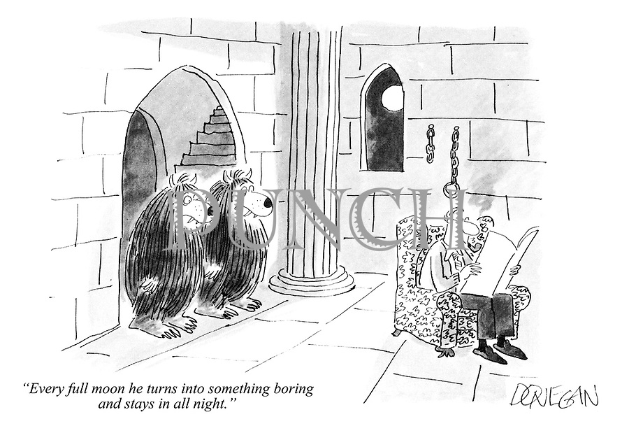 Punch cartoons by John Donegan | PUNCH Magazine Cartoon Archive