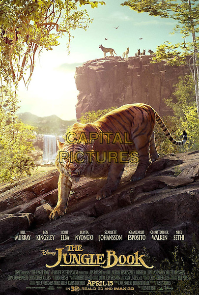 The Jungle Book (2016)<br /> POSTER ART<br /> *Filmstill - Editorial Use Only*<br /> CAP/FB<br /> Image supplied by Capital Pictures