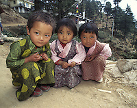 Three young girls are dressed in their finest holiday chubas, traditional Tibetan dresses, for the upcoming Losar new years celebrations in Dharamsala, India. Since 1959 thousands of Tibetans have now raised their families in the exiled Tibetan community of Dharamsala, home to the Dalai Lama. As the older refugee generation passes on, the next find themselves hoping for the freedom of a land they have never seen. Meanwhile, Tibetan refugees strive to assimilate into the modern twenty-first century while maintaining their Tibetan identity. While some Tibetans have opted to become citizens of another society, most continue to live in limbo as guests of other nations. The question lingers, how does a culture survive without a country?<br />
