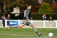 Dartmouth Big Green goalkeeper Lyman Missimer IV (25). Dartmouth defeated Monmouth 4-0 during the first round of the 2010 NCAA Division 1 Men's Soccer Championship on the Great Lawn of Monmouth University in West Long Branch, NJ, on November 18, 2010.