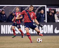 Oguchi Onyewu. The USMNT tied Argentina, 1-1, at the New Meadowlands Stadium in East Rutherford, NJ.