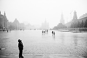 Moscow, Russia<br /> October 19, 1992<br /> <br /> Red Square.<br /> <br /> In December 1991, food shortages in central Russia had prompted food rationing in the Moscow area for the first time since World War II. Amid steady collapse, Soviet President Gorbachev and his government continued to oppose rapid market reforms like Yavlinsky's &quot;500 Days&quot; program. To break Gorbachev's opposition, Yeltsin decided to disband the USSR in accordance with the Treaty of the Union of 1922 and thereby remove Gorbachev and the Soviet government from power. The step was also enthusiastically supported by the governments of Ukraine and Belarus, which were parties of the Treaty of 1922 along with Russia.<br /> <br /> On December 21, 1991, representatives of all member republics except Georgia signed the Alma-Ata Protocol, in which they confirmed the dissolution of the Union. That same day, all former-Soviet republics agreed to join the CIS, with the exception of the three Baltic States.
