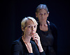 Oresteia<br /> by Aeschylus <br /> a new version created by Robert Icke<br /> at Almeida Theatre, London, Great Britain <br /> press photocall<br /> 4th June 2015 <br /> <br /> Lia Williams<br /> <br /> Annie Firbank <br /> <br /> <br /> <br /> <br /> <br /> Photograph by Elliott Franks <br /> Image licensed to Elliott Franks Photography Services