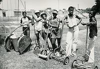 UNDATED...Bowling Park (Bowling Green?).Summer Employment Program TPP.Bowling Yard Work Maintenance.Summer Work Awareness.Reward Trip - Disney World....NEG#.NRHA#..