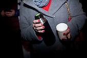 WARSAW, POLAND, December 17, 2016<br /> Late night demonstration of the oposition parties and KOD by the Sejm (Polish parliament)<br /> The opposition objects to government plans to limit the number of journalists allowed to cover parliamentary proceedings. The MPs' protest delayed a budget vote, which was later held away from the main parliament chamber. <br /> (Photo by Piotr Malecki / Napo Images)<br /> ****<br /> WARSZAWA, 17.12.2016. <br /> Nocna manifestacja opozycji pod sejmem w obronie wolnosci mediow <br /> Fot. Piotr Malecki / Napo Images<br /> <br /> ###ZDJECIE MOZE BYC UZYTE W KONTEKSCIE NIEOBRAZAJACYM OSOB PRZEDSTAWIONYCH NA FOTOGRAFII### ### Cena zdjecia w/g cennika FORUM plus 50% (cena minimalna 100 PLN)