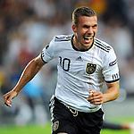 Fussball EURO 2012 Qualifikation: Deutschland - Oesterreich