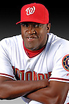 25 February 2007: Washington Nationals pitcher Chris Booker poses for his Photo Day portrait at Space Coast Stadium in Viera, Florida.<br /> <br /> Mandatory Photo Credit: Ed Wolfstein Photo<br /> <br /> Note: This image is available in a RAW (NEF) File Format - contact Photographer.