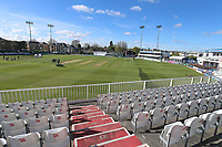 General view of the ground during Essex CCC vs Lancashire CCC, Specsavers County Championship Division 1 Cricket at The Cloudfm County Ground on 10th April 2017