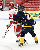 Jill Cardella (BU - 22), Laurel Ansell (Windsor - 22) - The Boston University Terriers defeated the visiting University of Windsor Lancers 4-1 in a Saturday afternoon, September 25, 2010, exhibition game at Walter Brown Arena in Boston, MA.
