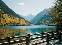 Panda Lake, Jiuzhaigou National Park, Sichuan Province, China