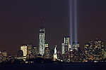 New York City and the 'Tribute In Light' 2013