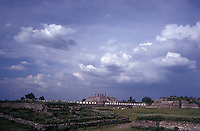 The Toltec ruins of Tula, Hidalgo, Mexico