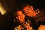 Foto: VidiPhoto<br /> <br /> TOURNUS (Fr) - Truus en Joan Koster genieten in Tournus in de Franse Bourgogne aan het eind van de dag, van een glas rode wijn bij hun oude wijnboerderij La Montagne. De Rhenense ondernemer startte vijf jaar geleden op deze plek een Chambres d' Hotes als financi&euml;le ondersteuning van L'Abri France op dezelfde plek. Deze stichting onder leiding van Truus Koster vangt Nederlandse jongeren op die een tijdje een time out nodig hebben. Vijf jaar geleden begon het echtpaar uit Rhenen langs Route du Soleil een B&amp;B voor Belgische en Hollandse toeristen. Dit jaar heeft Koster zelfs de zilveren Zoover publieks-award gewonnen.