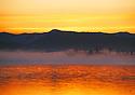 Lake Tahoe Scenic Misty Lakeshore