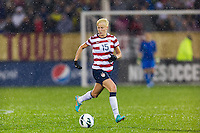 Megan Rapinoe (15) of the United States (USA). The United States (USA) and Germany (GER) played to a 2-2 tie during an international friendly at Rentschler Field in East Hartford, CT, on October 23, 2012.