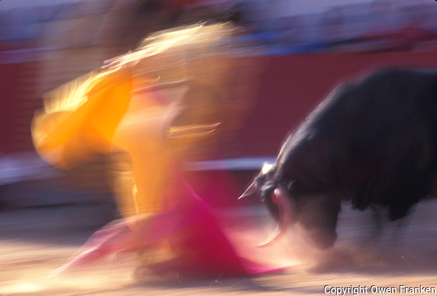 Bullfight in Arles during Feria de Paques, the Easter Festival