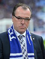 FUSSBALL   1. BUNDESLIGA  SAISON 2012/2013   4. Spieltag FC Schalke 04 - FC Bayern Muenchen      22.09.2012 Aufsichtsrat Vorsitzender Clemens Toennies (FC Schalke 04)