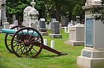 12 pounder Napoleon Civil War Cannon, Major General Frank Wheaton Monument, Arlington National Cemetery, Arlington, Virginia
