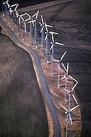 Windmills, Suisun Bay, California