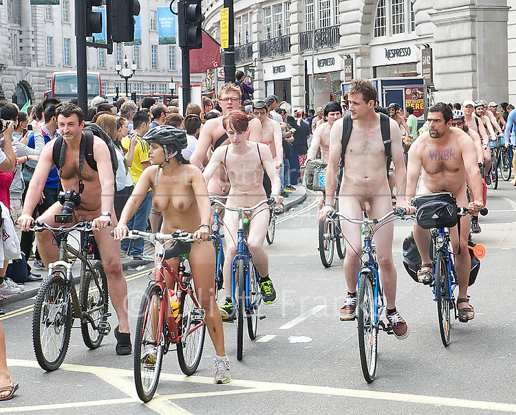 girls riding bikes naked at cot by cops