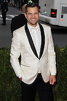 """NEW YORK CITY, NY, USA - MAY 05: Joshua Jackson at the """"Charles James: Beyond Fashion"""" Costume Institute Gala held at the Metropolitan Museum of Art on May 5, 2014 in New York City, New York, United States. (Photo by Xavier Collin/Celebrity Monitor)"""