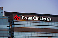 Stock photo of Texas Children's Hospital in the Texas Medical Center, Houston