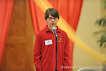 Regents School's Elijah Teague won first place in the 6th grade competition of The Mississippi Association of Independent Schools District I East Spelling Bee at the Oxford University United Methodist Church's Activity Center on Thursday, February 19, 2010. Schools participating are Kirk Academy, Marshall Academy, Magnolia Heights, North Delta, Regents, and Oxford University School.