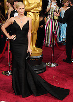 HOLLYWOOD, LOS ANGELES, CA, USA - MARCH 02: Charlize Theron at the 86th Annual Academy Awards held at Dolby Theatre on March 2, 2014 in Hollywood, Los Angeles, California, United States. (Photo by Xavier Collin/Celebrity Monitor)