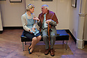 "London, UK. 27/03/2012. ""The American Clock"" by Arthur Miller, opens at the multi-award-winning Finborough Theatre. The play runs from 27th March - 21st April 2012. Picture shows: Issy Van Randwyck (as Rose Baum) and James Horne (as Grandpa Baum).Photo credit: Jane Hobson"