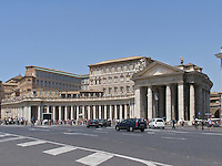 Piazza San Pietro (St. Peter's Square), Vatican, Rome, Italy, State of the Vatican City, World Heritage Site